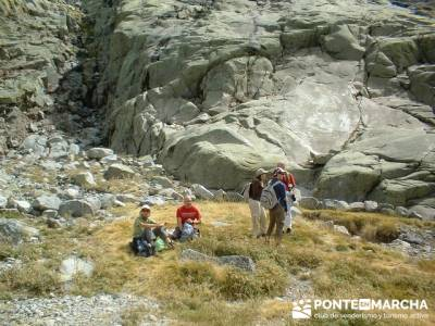 Laguna Grande de Gredos - Disfrutando de Gredos; grupos de senderismo; senderismo cercedilla